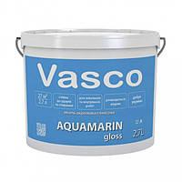 Vasco AQUAMARIN gloss 2,7 л акрилова емаль універсальна глянцева