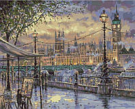 Картины по номерам 40 х 50 см. Вечерний Лондон., фото 1