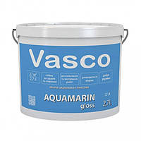 Vasco AQUAMARIN gloss С 2,7 л акриловая эмаль универсальная полуматовая