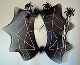 Карнавальный набор Паук (пауинка, антенки, палочка), фото 2