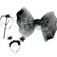 Карнавальный набор Паук (пауинка, антенки, палочка)