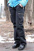 Купить штаны женские черные