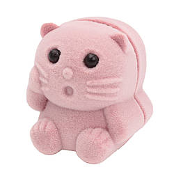 Футляр для кольца Кошечка розовая