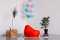 Детское кресло мешок груша красная  100*75 см из ткани Оксфорд
