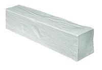 Декоративна балка з поліуретану модерн ED 106 (3м) classic біла 12х12