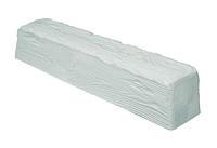Декоративна балка з поліуретану рустик EQ 006 (2м) classic біла 12х12