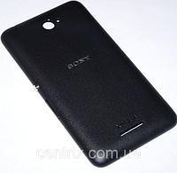 Задняя крышка для Sony E2104 Xperia E4, E2105, E2115, E2124, черная, оригинал