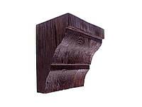 Декоративна консоль з поліуретану модерн ED 035 classic темна 19х13