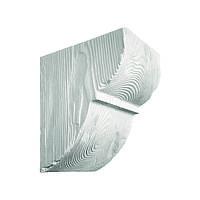 Декоративная консоль из полиуретана рустик EQ 015 classic белая 19х17