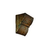 Декоративна консоль з поліуретану рустик EQ 017 classic темна 6х9