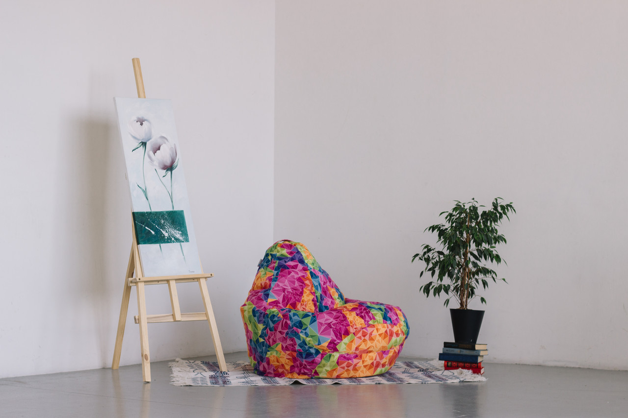 Кресло-мешок груша 120*90 см из габардина Кристалл