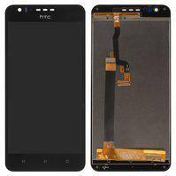 Дисплей для мобильного телефона HTC Desire 10 Lifestyle, черный, с сенсорным экраном