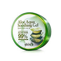 Гель для лица с алоэ вера SKIN79 ALOE AQUA SOOTHING GEL 99%, 300 мл