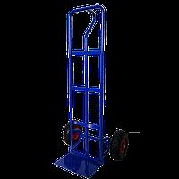 Тачка складська 2-х колісна для перевезення вантажів на пневматичних колесах