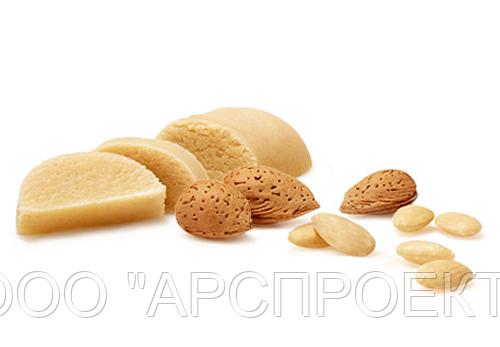 Миндальная паста для выпечки (содержание ореха - не менее 52%)