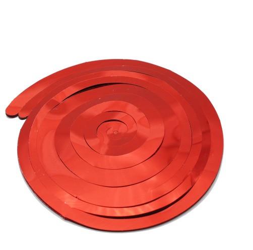 Красные гирлянды на потолок - 1шт.