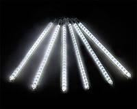 """Гирлянда новогодняя белая  """"Тающие сосульки"""" LED, 50 см.(8шт)"""