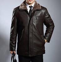 Мужская  зимняя дубленка. Модель 0418, фото 6