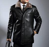 Мужская  зимняя дубленка. Модель 0418, фото 5
