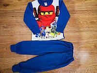 Теплая пижама для мальчика Ниндзяго 92-122 см