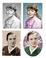 Восстановление и ретушь фотографий для ритуальниы портретов