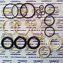 Ремкомплект гидроцилиндра поворота колёс (ГЦ 80*45) Т-151К / Т-150 (шевронные манжеты штока d-45 резиноткань), фото 2