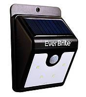 Настенный уличный светильник Ever Brite с датчиком движения на солнечной панели up02000, КОД: 225373