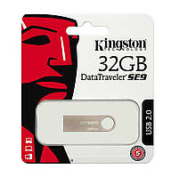 USB Флешка 2.0 Kingston DataTraveler SE9 32 GB (DTSE9H/32GB) Silver