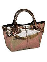 Сумка Женская Классическая кожа ALEX RAI 10-02 8649-4 bronz