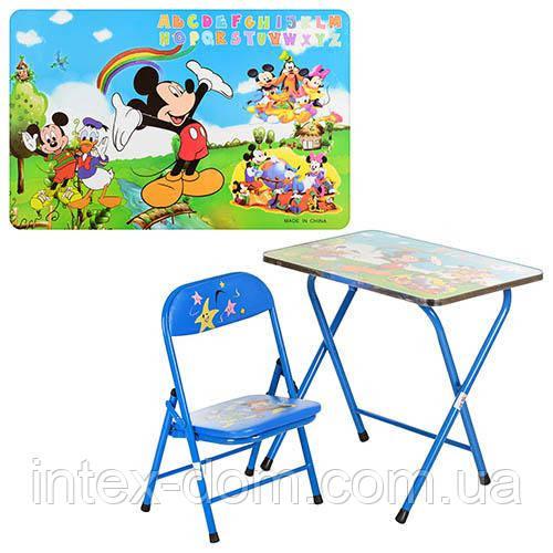"""Детский складной столик со стульчиком DT 18 А2, """"Микки Маус"""""""