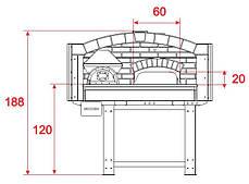 Печь для пиццы Asterm D120V, фото 3