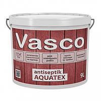 Vasco antiseptik AQUATEX в кольорі 9 л просочення-антисептик для деревини для зовнішніх робіт