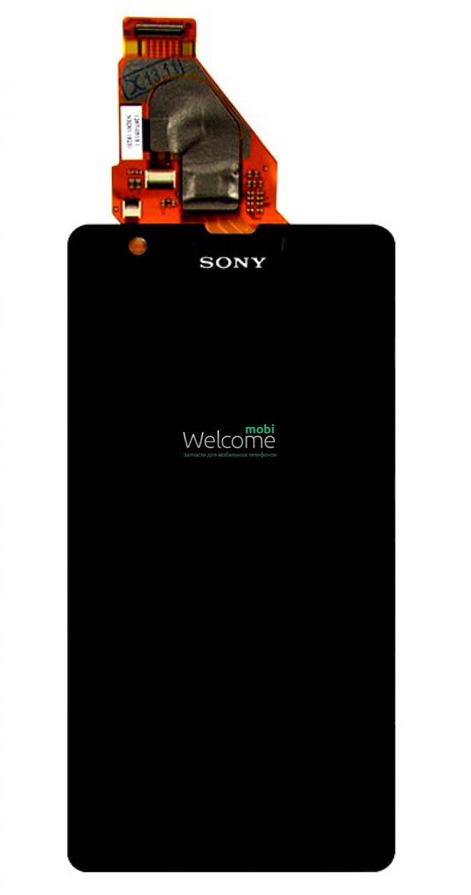 Модуль Sony C5502 M36h Xperia ZR,C5503 M36i Xperia ZR black дисплей экран, сенсор тач скрин Сони