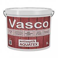 Vasco antiseptik AQUATEX Білий 9 л просочення-антисептик для дерева зовні