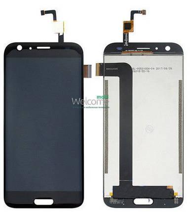 Модуль Doogee BL5000 black дисплей экран, сенсор тач скрин Дуги Дуджи, фото 2