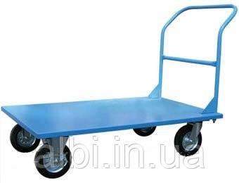 Тележка платформенная 500 (литые колеса)
