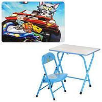 """Детский складной столик со стульчиком DT 18-21, """"Том и Джерри"""""""