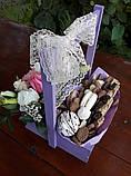 Солодощі в дерев'яному ящику, фото 3