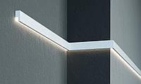 Фасадний молдинг з прихованою підсвічуванням Prestige Decor MC 301LED (2.00 м)