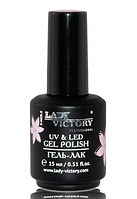 Гель-лак «NEW COLLECTION» 15 мл GL-007 Lady Victory