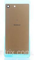 Задняя крышка для Sony E5603 Xperia M5, E5606, E5633, E5653, E5663, золотистая