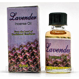 "Ароматическое масло ""Lavender"" 8 мл Индия 20454"