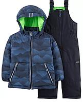 Зимний комбинезон OshKosh (США) синий для мальчика от 2 до 5 лет