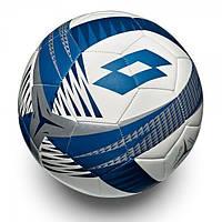 Мяч футбольный Lotto BALL FB 1000 IV 5  WHITE/BLUE OIL T3694/T3712