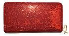 Женский кошелек из искусственной кожи с блестками Victoria's Secret (11x20x3), фото 2
