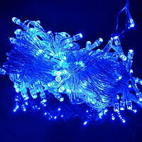 Гирлянда нить 200 LED (цвет - синий)