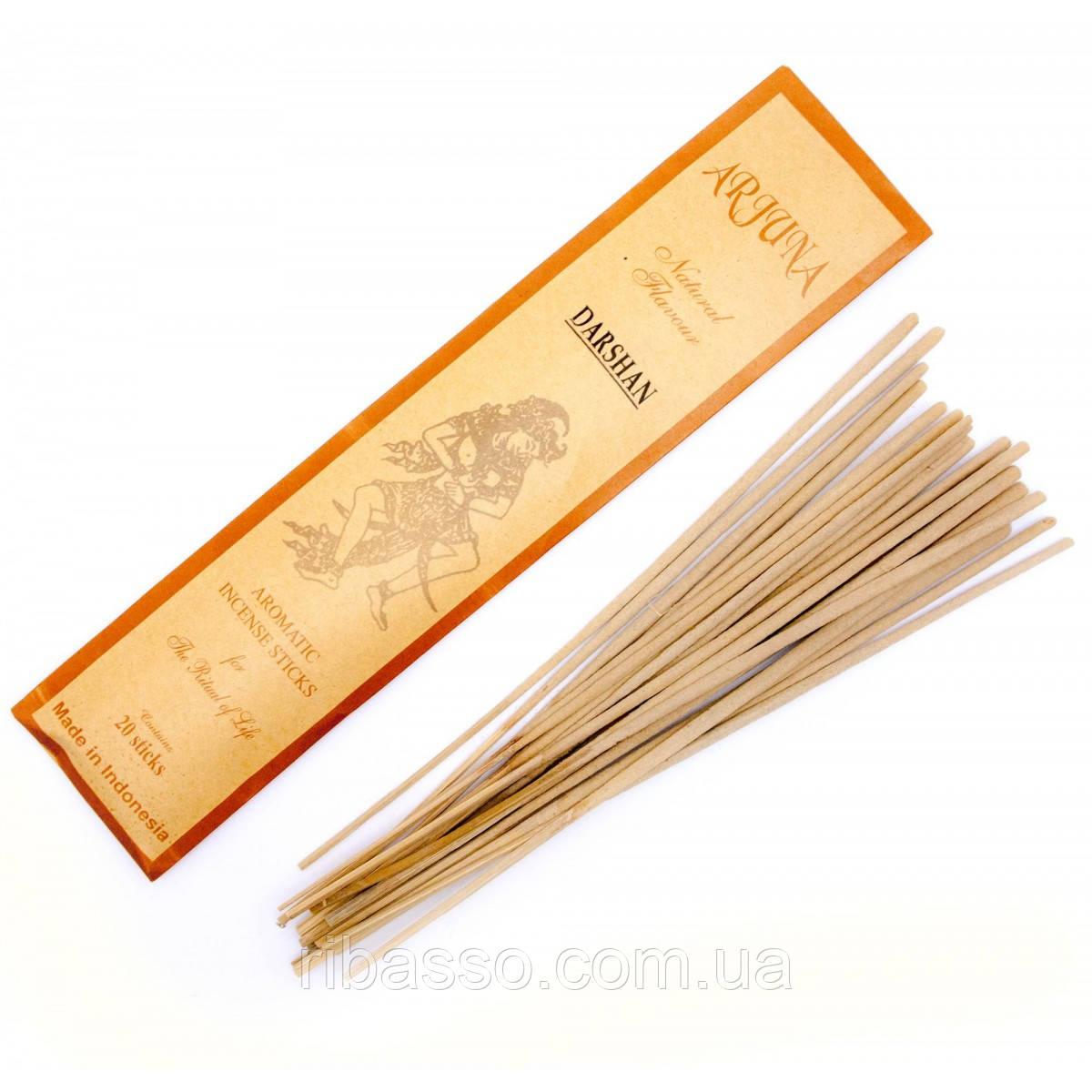 Darshan Даршан Arjuna пыльцовое благовоние Индонезия 29450