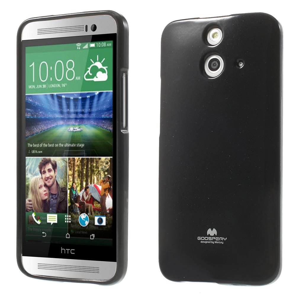 Чехол накладка силиконовый TPU Mercury для HTC One E8 Dual черный