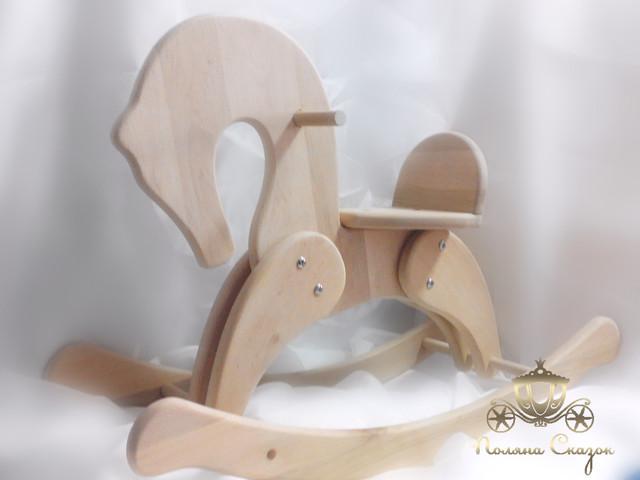 Лошадки - качалки деревянные