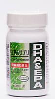 Омега DHA EPA. 60капсул. Капсула -рыбьий желатин  Япония